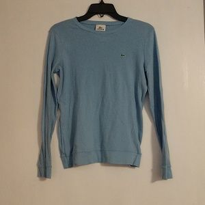 Lacoste crew neck shirt size 42